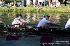 W1 were delighted that Holly (right) would be joining us in the 5 seat. © Christopher Down