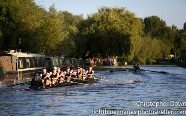 M1 chase Caius, day 1 Mays 2015. © Christopher Down