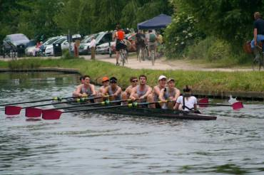 M1 after dodging a bump from Trinity, day 3 Mays 2015.